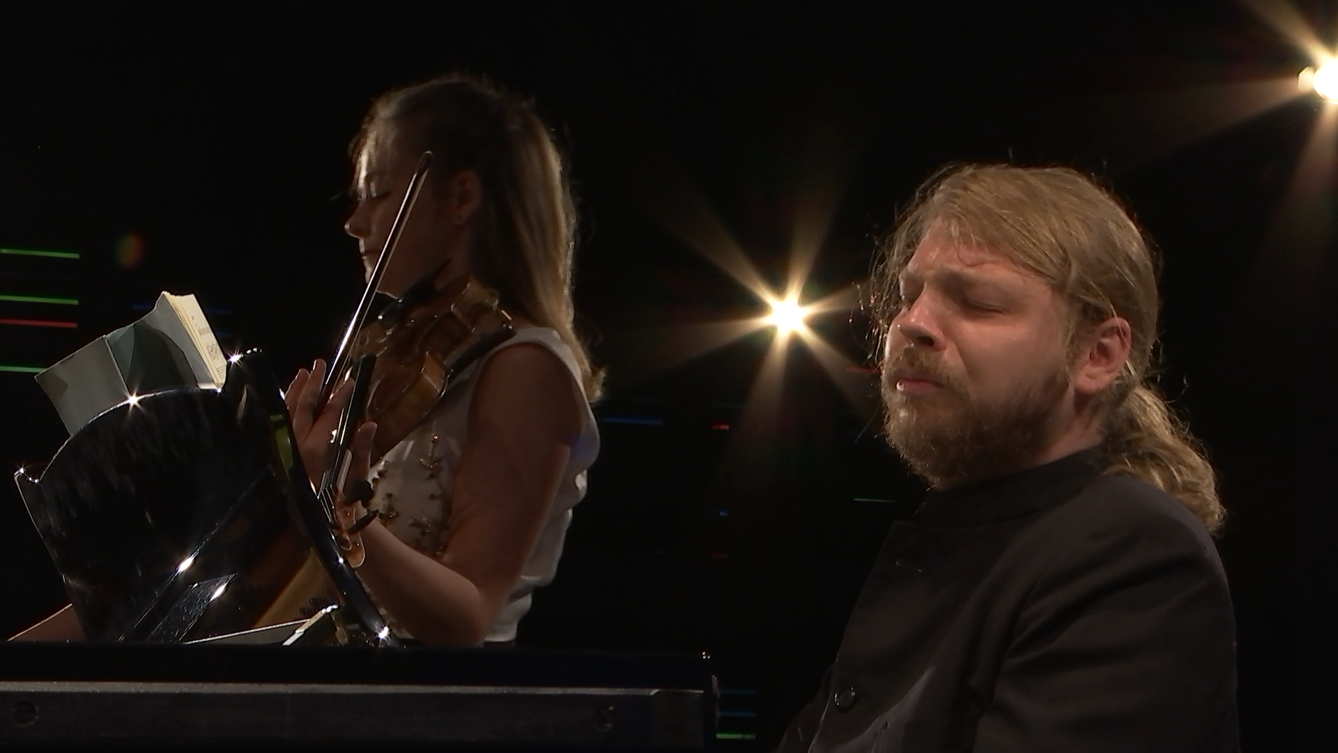 Alexandra Conunova and Denis Kozhukhin perform Beethoven, Prokofiev, Brahms, and Ravel