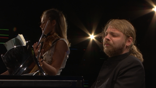 Alexandra Conunova and Denis Kozhukhin perform Beethoven, Prokofiev, Brahms, and Ravel