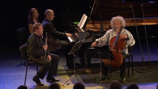 Alexei Ogrintchouk, Aleksandar Madzar, Mischa Maisky perform Britten, Beethoven, Ponchielli and Spohr