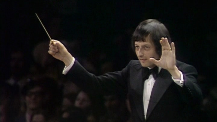 André Previn conducts Rachmaninov, Prokofiev and Bernstein
