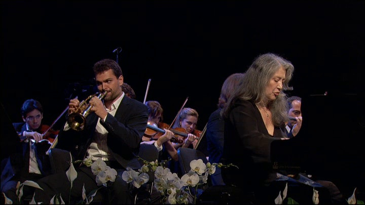 Martha Argerich, Menahem Pressler, Nikolai Lugansky, Gautier Capuçon, Daniel Harding play Chostakovitch, Prokofiev, and Mozart