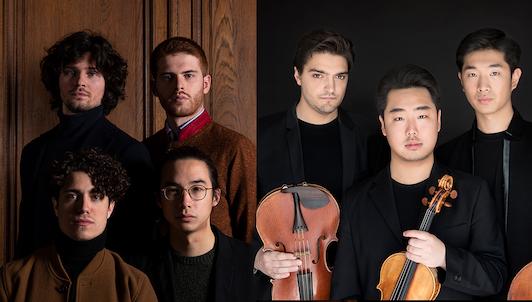 El Trío Arnold y el Cuarteto Elmire interpretan Beethoven, Webern y Shostakóvich