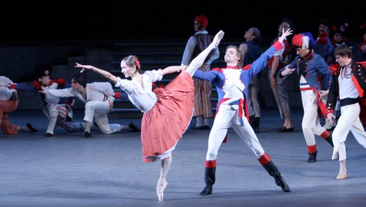 Alexei Ratmansky's Flames of Paris, music by Boris Asafyev