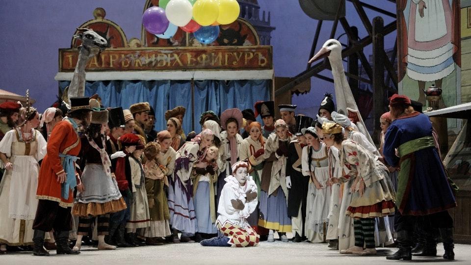 Ballets Russes: Le Spectre de la rose, L'après-midi d'un faune, El sombrero de tres picos, Petrushka