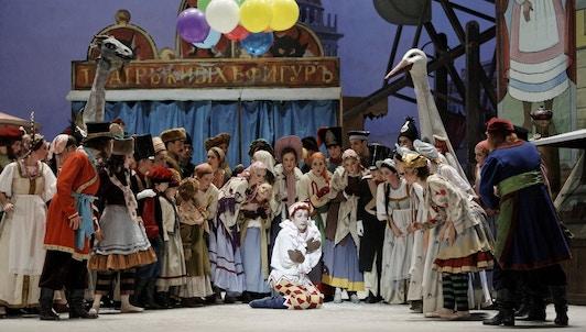 Ballets russes : Le Spectre de la rose, L'Après-midi d'un faune, Le Tricorne, Petrouchka