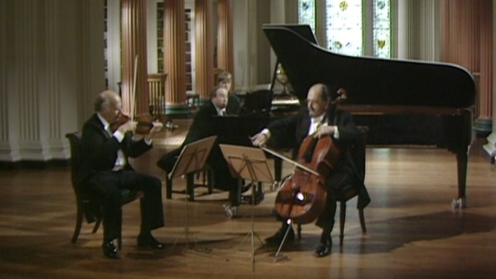 The Beaux Arts Trio performs Schubert