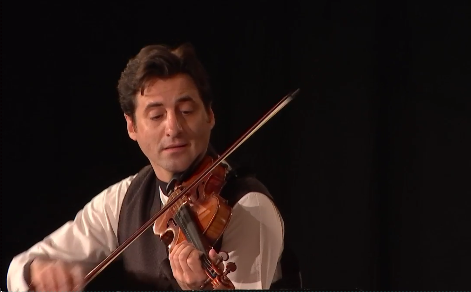 Philippe Quint and Julien Quentin play Leclair's Sonata for Violin and Piano No. 3 in D Major, Op. 9