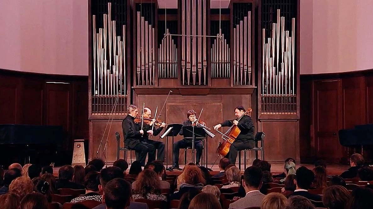 The Borodin Quartet performs Miaskovsky and Svetlanov