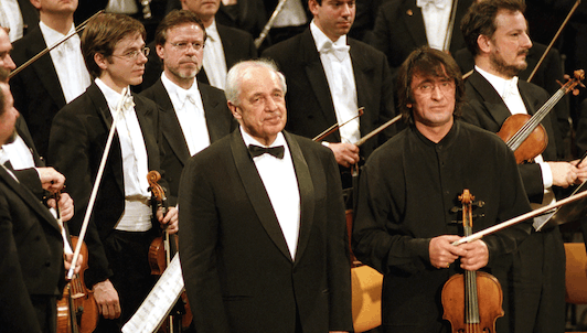Pierre Boulez conducts Bartók — With Gidon Kremer and Yuri Bashmet