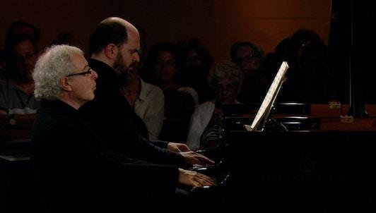 Sir András Schiff y Kirill Gerstein interpretan la Fantasia Contrappuntistica de Busoni