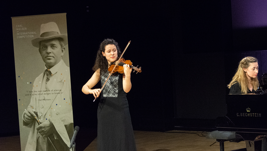 Carl Nielsen International Competition: Violin Final (Day 2)