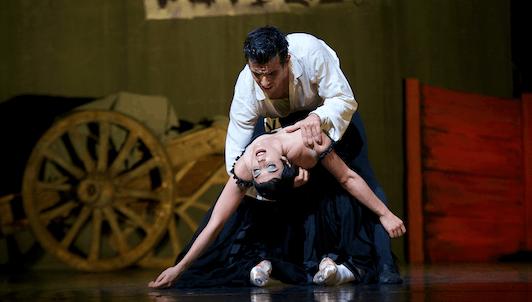 Carmen de Roland Petit, música de Bizet