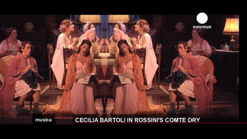 Cecilia Bartoli on Rossini's seductive Comte Ory