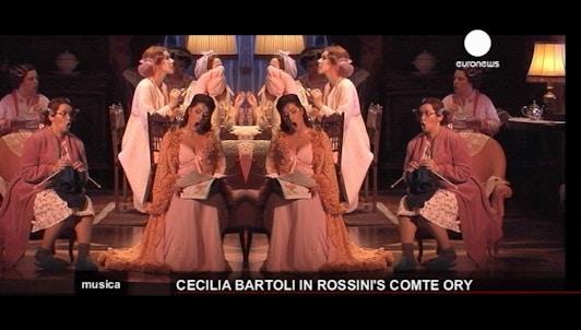 Cecilia Bartoli dans la peau de la comtesse Adèle – la cantatrice italienne renoue avec Rossini