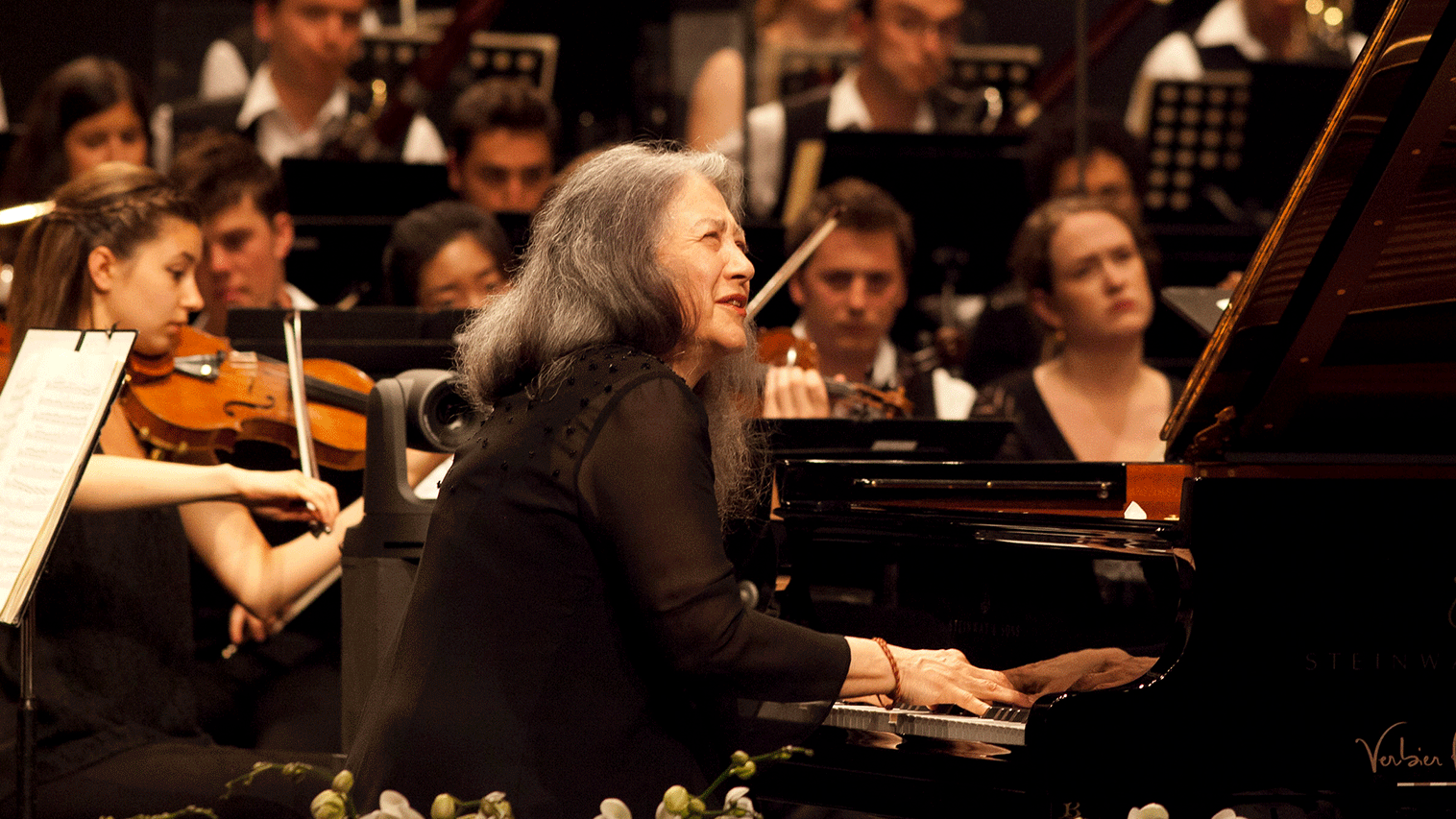 Charles Dutoit conducts Tchaikovsky and Brahms – With Martha Argerich
