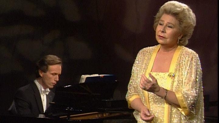Christa Ludwig chante Schubert, Mahler, Bernstein, Wolf, et R. Strauss