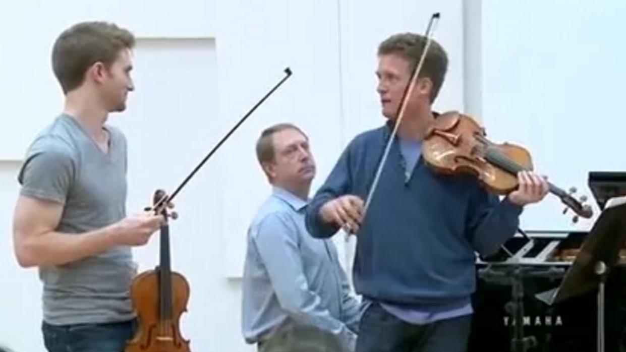 Master Class with Christian Tetzlaff (I/IV)