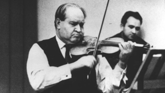 David Oistrakh interpreta a Bach y Mozart