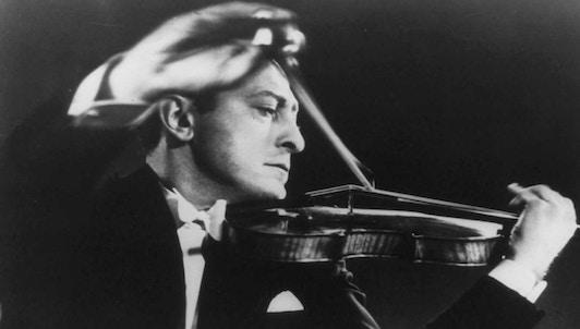 NEW VOD: Jascha Heifetz plays Mendelssohn and Nathan Milstein plays Bach, Paganini, and Milstein