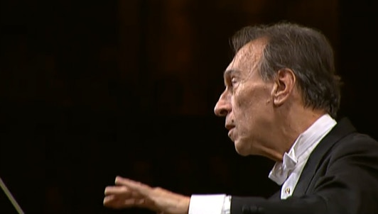 Claudio Abbado conducts Beethoven's Symphony No. 6