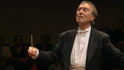 Claudio Abbado conducts Mahler's Symphony No. 5