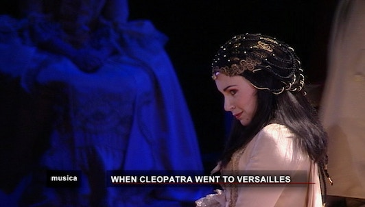 When Cleopatra went to Versailles