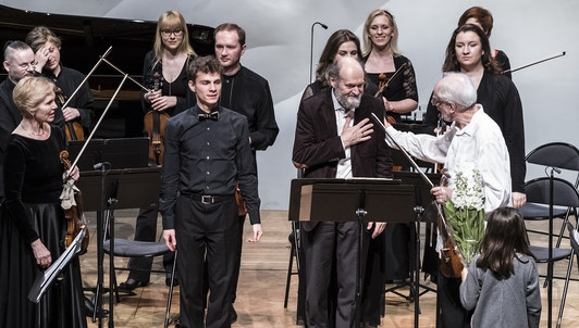 NEW VOD: Gidon Kremer plays Arvo Pärt and Schubert: Tribute to Arvo Pärt