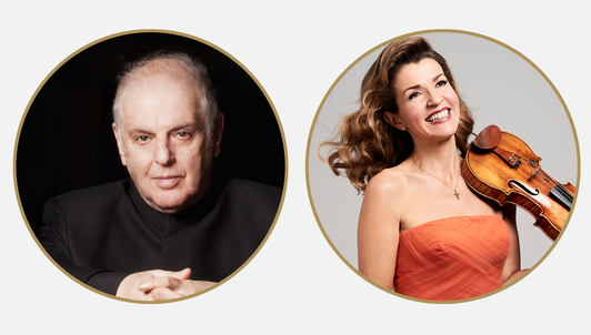 Daniel Barenboim conducts Beethoven — With Anne-Sophie Mutter