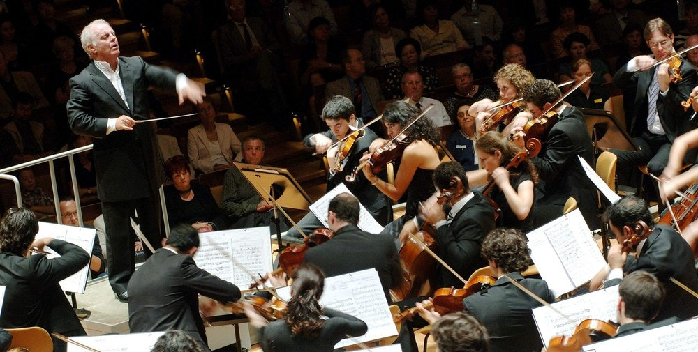 Daniel Barenboim conducts Strauss and Tchaikovsky – With Miriam Manasherov and Kian Soltani