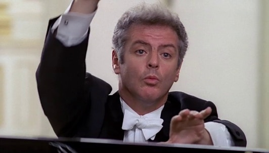 Daniel Barenboim plays and conducts Mozart's Piano Concerto No. 27