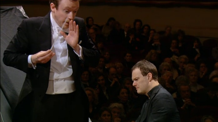 Daniel Harding and Lars Vogt perform Brahms