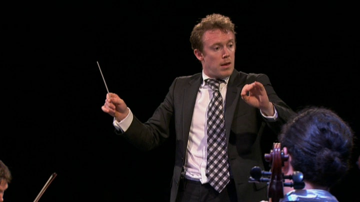Daniel Harding performs Schumann and Brahms