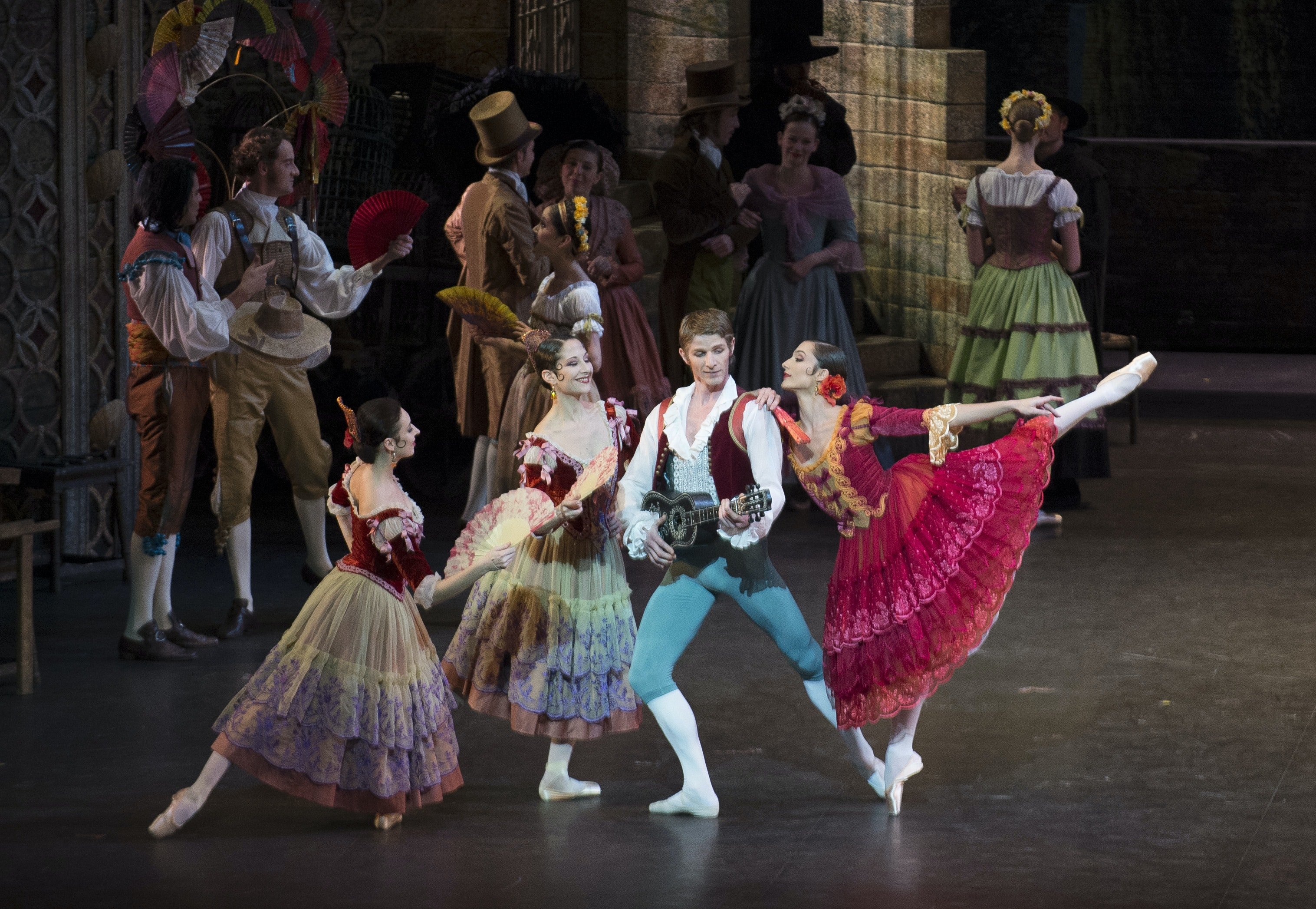 Don Quixote by Nureyev after Petipa, music by Minkus