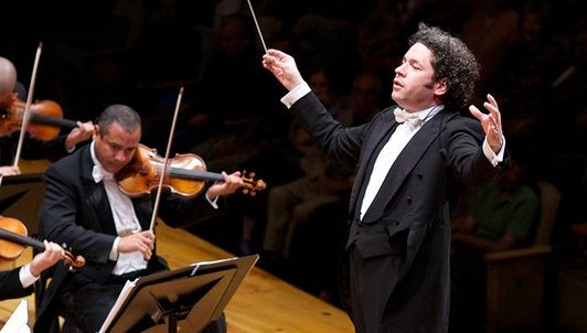 Gustavo Dudamel conducts Beethoven's Symphonies No. 1 and No. 2