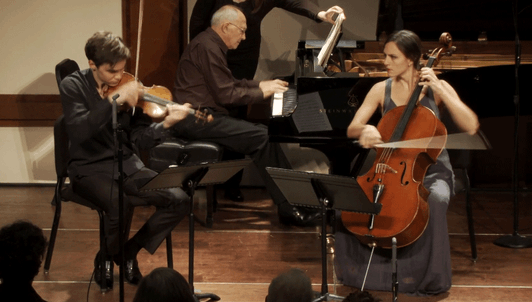 Dvořák's Trio in F minor – With Gilbert Kalish, Benjamin Beilman and Julie Albers