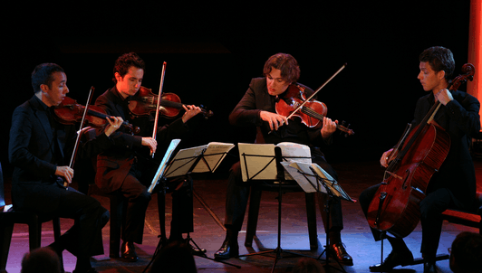 The Ébène Quartet performs Schubert and Mozart