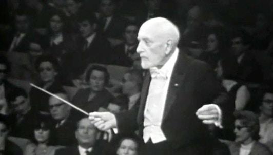 Ernest Ansermet dirige Beethoven y Pierre Monteux dirige Dukas