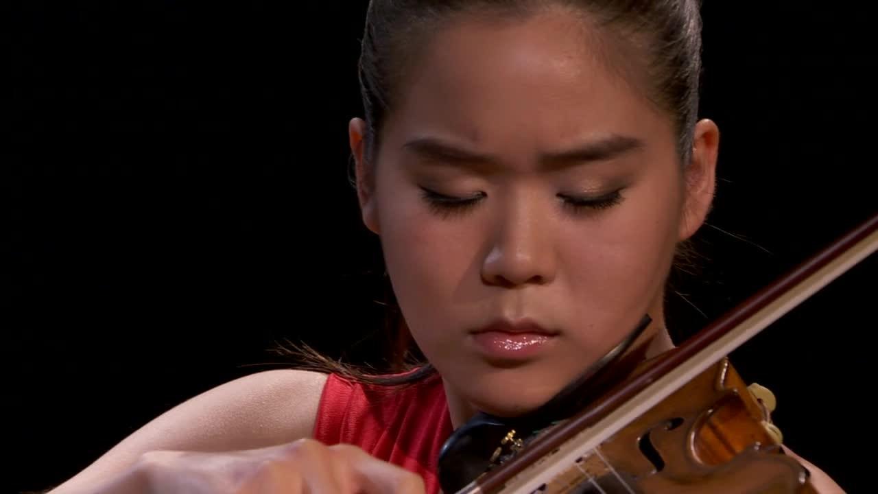 Esther Yoo and Robert Koenig in recital