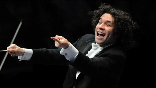 Gustavo Dudamel and Gautier Capuçon perform Brahms, Haydn and Beethoven