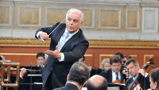 Daniel Barenboim and Alisa Weilerstein perform Wagner, Elgar and Brahms