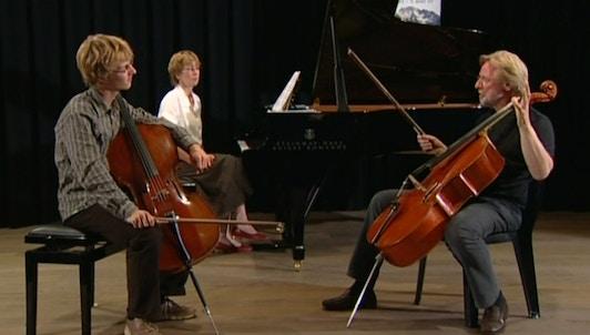 Frans Helmerson teaches Schubert: Arpeggione Sonata
