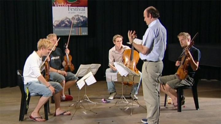 Gábor Takács-Nagy teaches Bartók: String Quartet No. 5