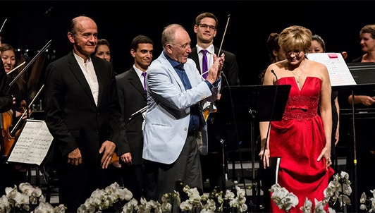 Gábor Takács-Nagy conducts Shchedrin, Copland, Prokofiev, Saint-Saëns, Schumann – With Mischa Maisky, Martin Fröst, Tatiana Monogarova, Julien Quentin