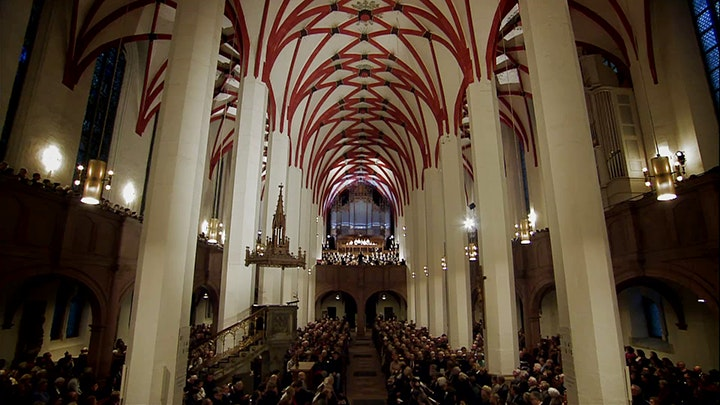 Georg Christoph Biller conducts Bach's St. Matthew Passion