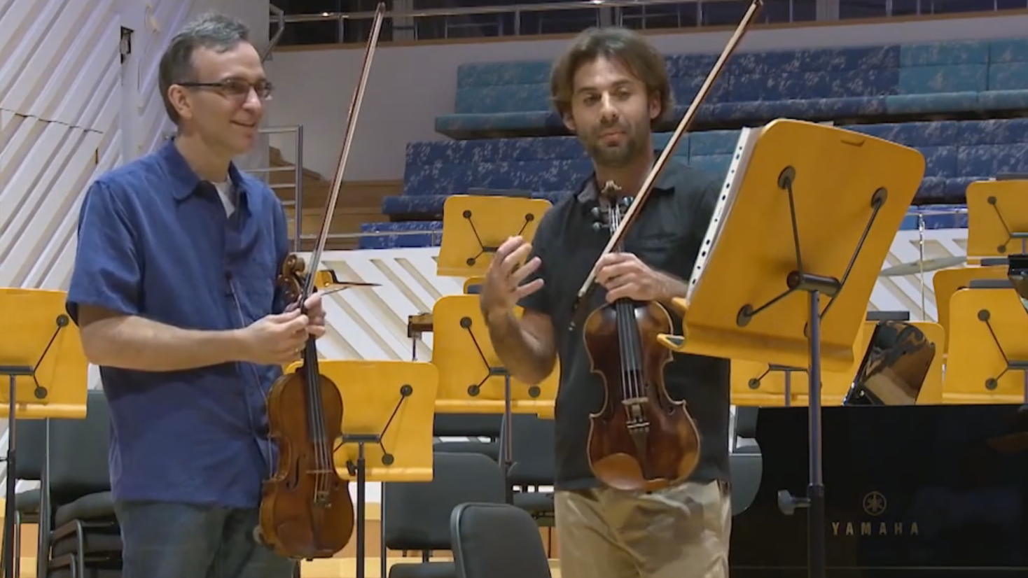 Master Class with Gil Shaham (II/IV)