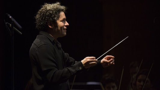 Gustavo Dudamel conducts Beethoven's and Brahms's Fourth Symphonies