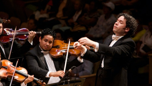 Gustavo Dudamel conducts Ravel, Stravinsky, and selected dances from around the world