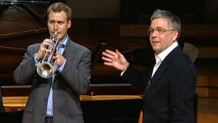 Master Class with Hakan Hardenberger: three works for trumpet