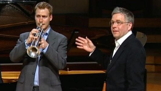 Master Class de Hakan Hardenberger : trois œuvres pour trompette