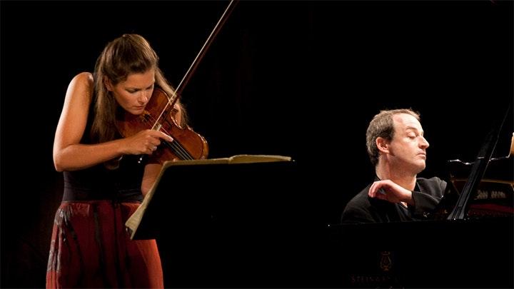 Janine Jansen and Itamar Golan play Bartók, Szymanowski, Dubugnon and Ravel
